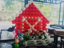 Farm Theme Balloon Decor Backdrop