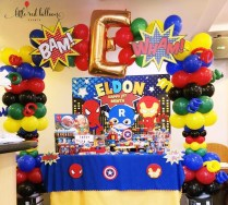 balloon-decoration-super-heroes