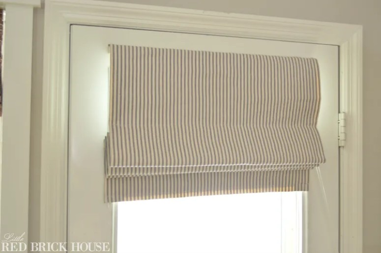 How to Make A Functioning Roman Shade | Little Red Brick House