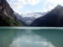 Breathtaking view. Lake Louise, Alberta, Canada.