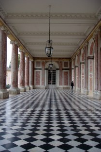 Inside the Grand Trianon. Versaille, France.