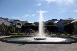 Another fountain in the Mirabell Gardens where Maria and the children danced around during Do Re Mi.