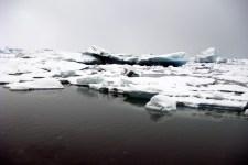 Made our way to Jökulsárlón - glacial lagoon.