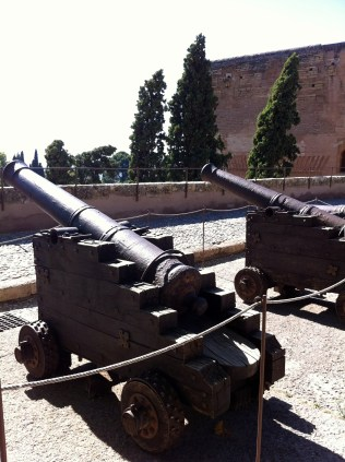 Canons at the Alhambra.