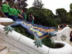 The famous salamander.