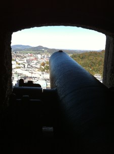 Canon with a view.