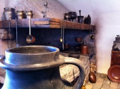 I call this a really old kitchen.