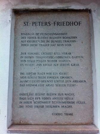 Petersfriedhof (St. Peter's Cemetery)