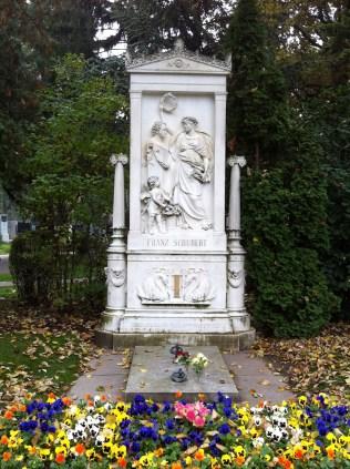 Schubert's grave.