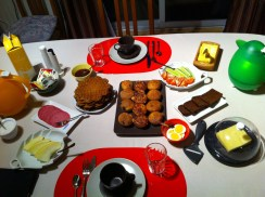 Made our way to a small town called Hella and found Guesthouse Nonni. If you need a place to stay between Reykjavik and Vik, I'd highly recommend this one. Look at the breakfast!!!