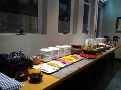Breakfast at Hotel Frohn.