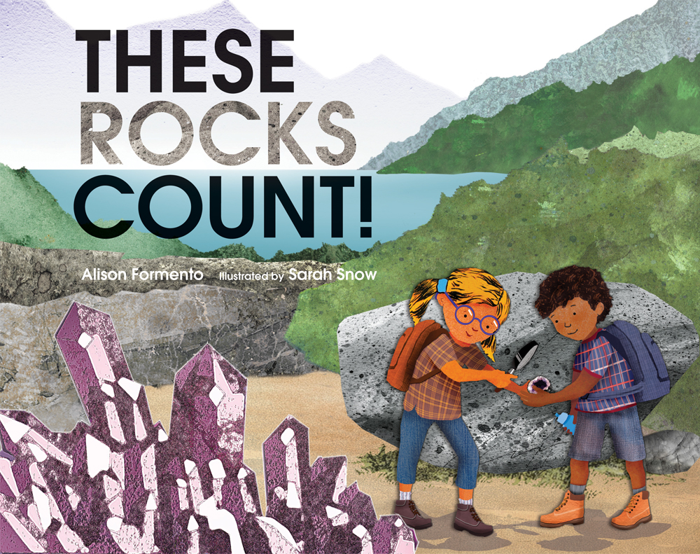 Children's Book Review: These Rocks Count