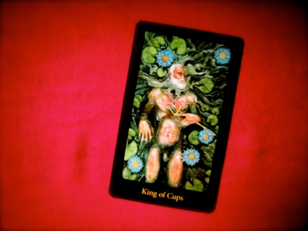The King of Cups, from the Mary-el Tarot by Marie White