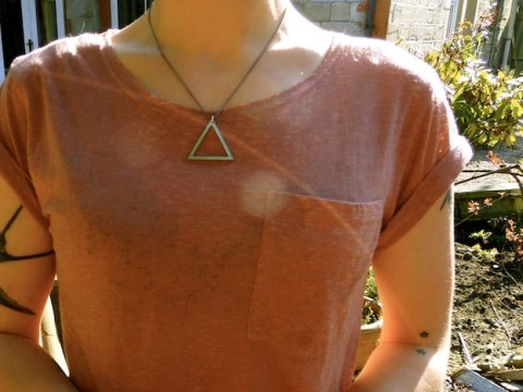 Fire element necklace