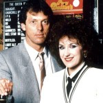 Tarot Court Cards - Angie and Den from 1980s Eastenders