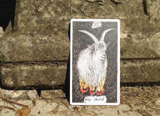 The Devil tarot card Wild Unknown