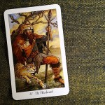 The Woodward - from the Wildwood Tarot