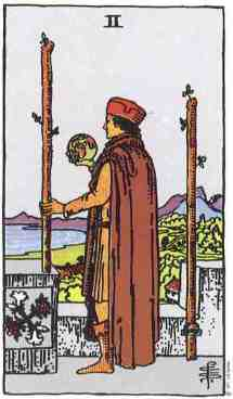 two-of-wands