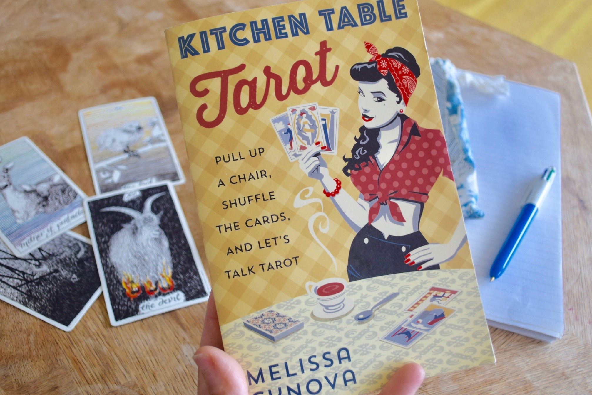 REVIEW Kitchen Table Tarot Learn Tarotwith A Big