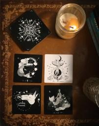 Dark Days Tarot New moon in Libra 5