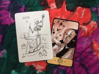 The Solar Wanderer's Tarot and the Sasuraibito Tarot