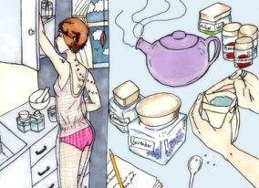 Tea Break | Dark Days Tarot