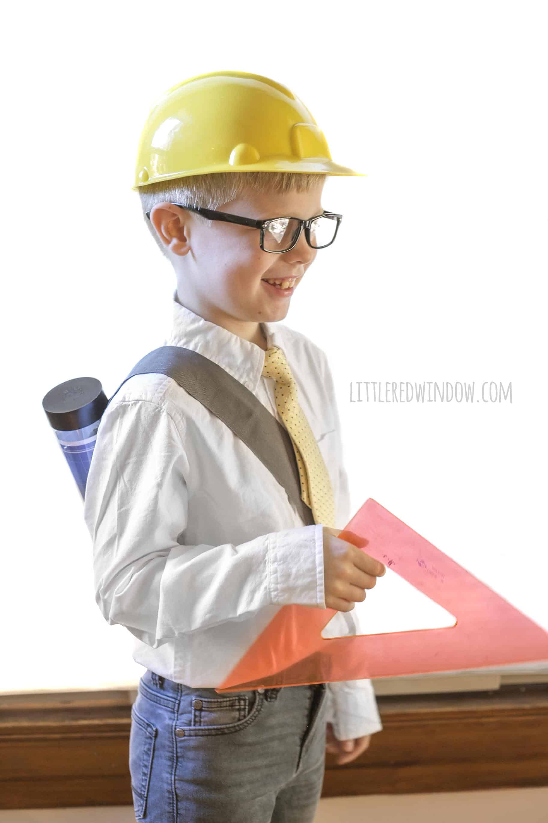 Easy Architect Costume For Kids