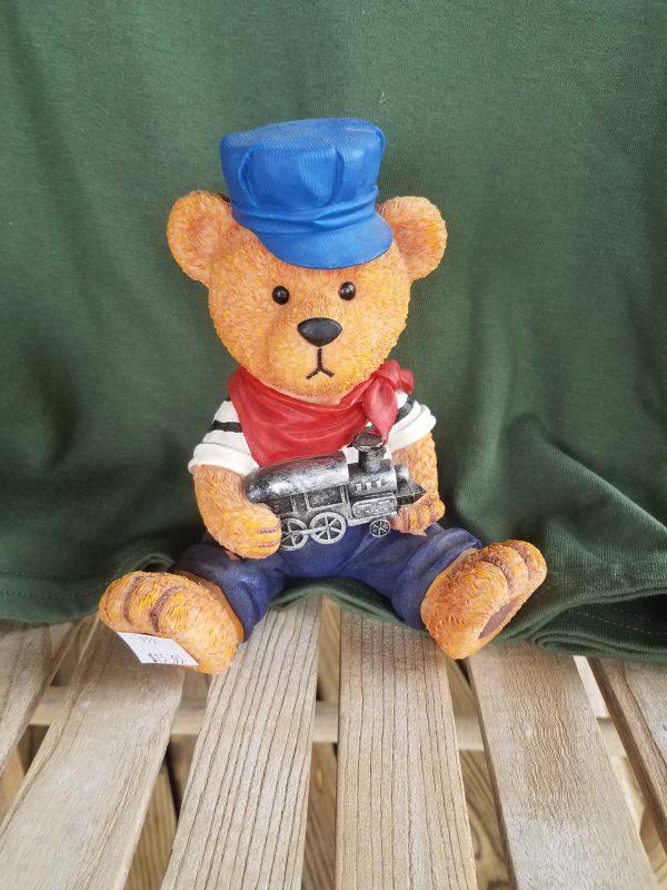 Engineer Teddy Bear Bank