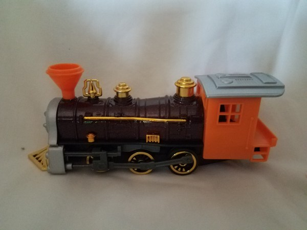 Steam Locomotive Die-Cast Train