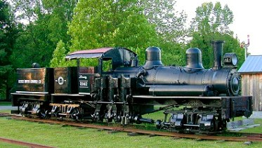 Locomotive 2147 shay black