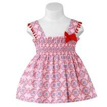 Rochiță roz cerculețe Miranda Textil