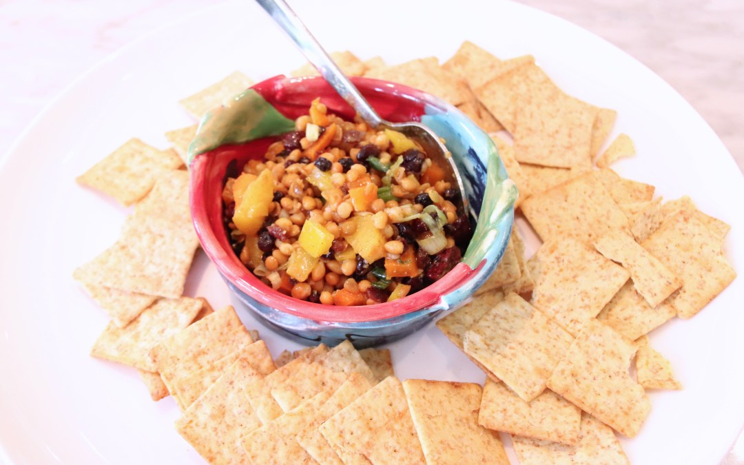 Little Sarah's Lentil Dip: A Party Favourite