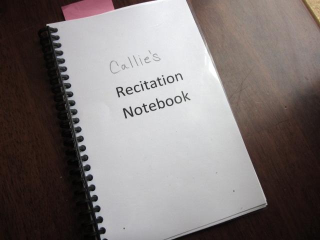 IMG 0312 - Recitation (shhhhh, Catechism) Printables