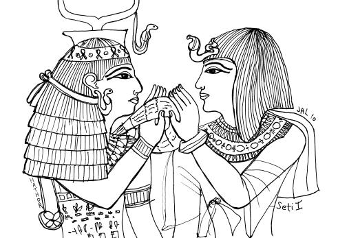 seti hwt0 1024x723 - Ancient Egypt Timeline
