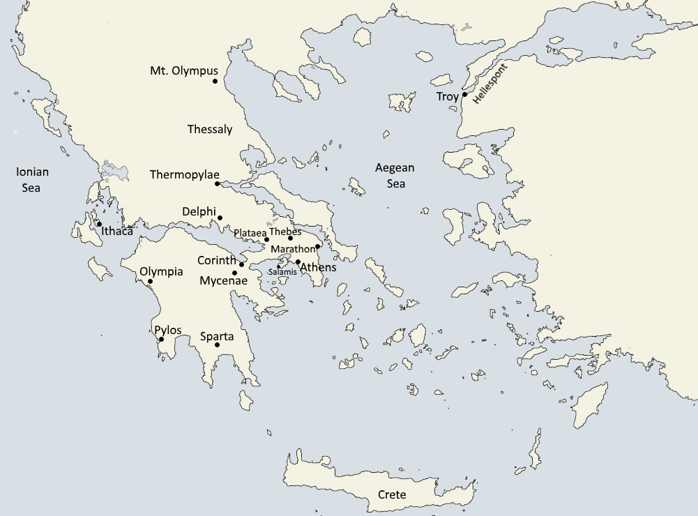 Greece/Roman History Maps and Keys | https ... on
