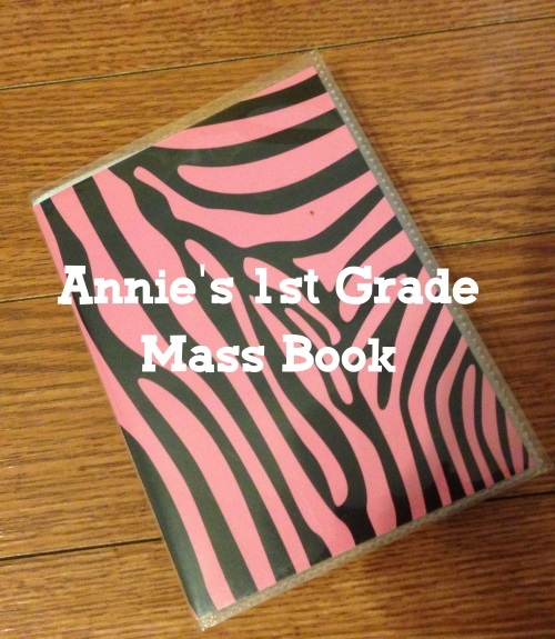 File 002 - 1GRD Mass Book