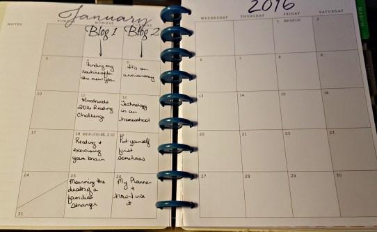 Blogging Calendar Confirmed