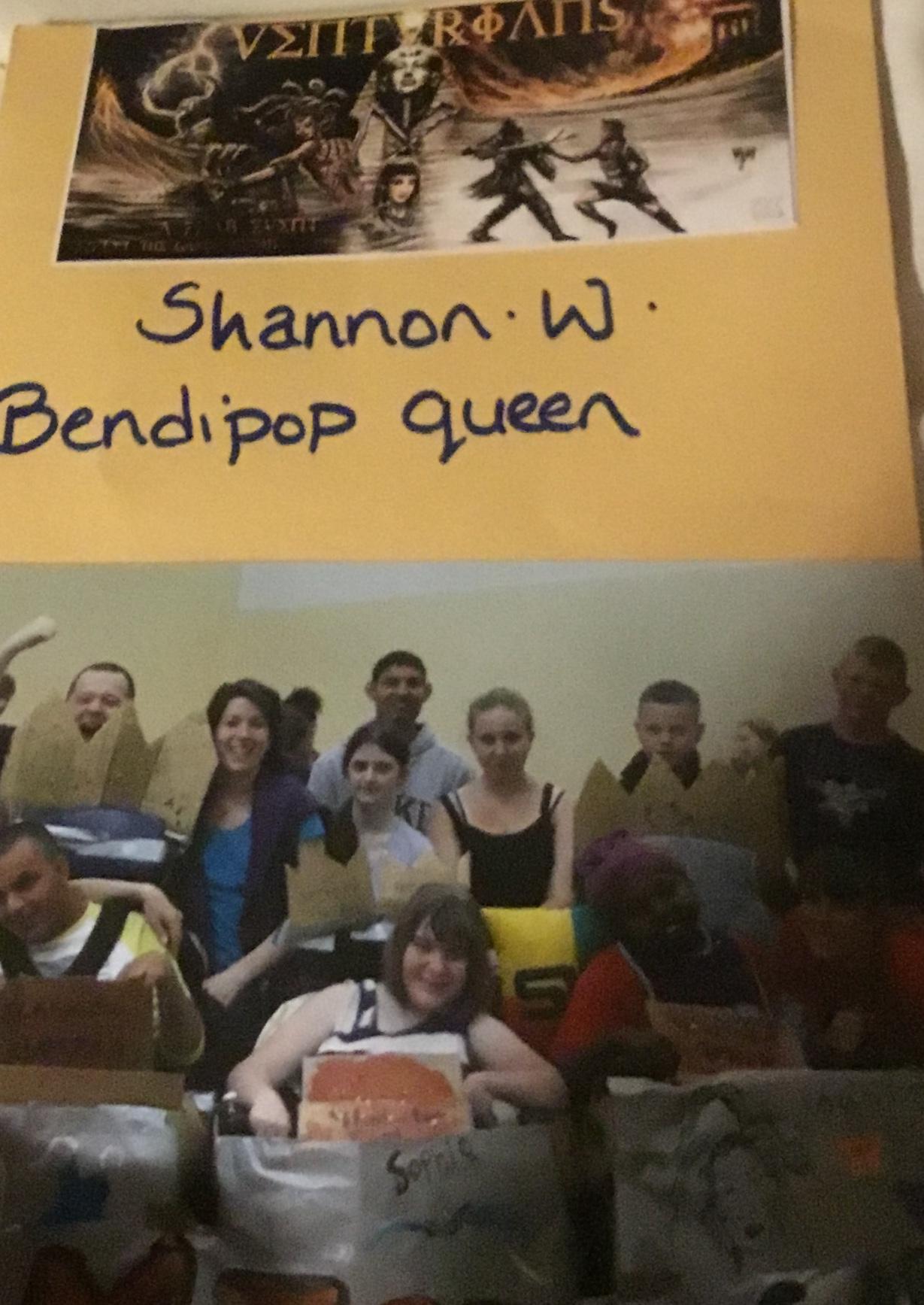Bendipop queen award (leaflet)