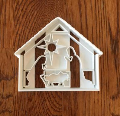 nativity-themed cookie cutters