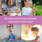 Raising Godly children isn't an assembly line, it's a path to be nurtured. You child might learn the Bible as an Intellectual or Traditionalist, but maybe they learn to pray best in nature or on a schedule. Sacred Pathways for Kids can help you understand your child's spiritual personality better, and learn to nurture your Christian kids toward deeper faith. Also appropriate for a children's ministry context. | Christian parenting tools #Christianparenting #sacredpathways #sacredpathwaysforkids