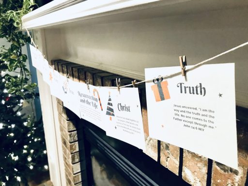 Names of Jesus Advent Family Bible study