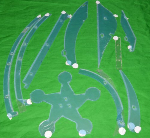 Cirqus Voltaire 10 Piece Clear Plastic Set 31-2833