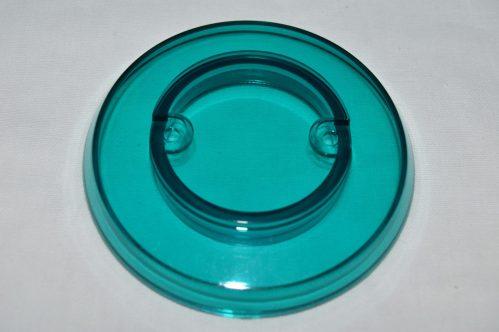 Teal Transparent Pop Bumper Cap 03-8254-25