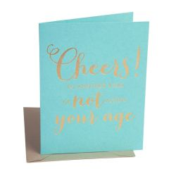 Cheers Birthday - The Social Type - Little Shof Of WOW - Card