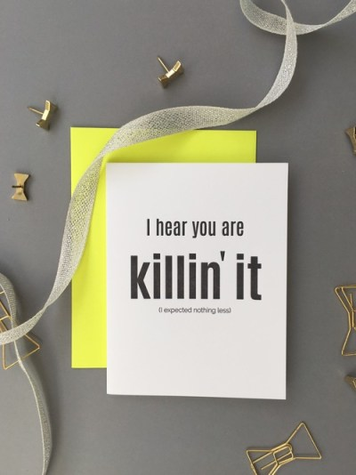 I Hear You're Killin It - Chez Gagne - Little Shop of WOW - #Girlboss WOW Box