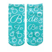 Bride to Be Socks - OMG, You're Engaged! WOW Box - Living Royal - Little Shop of WOW - Bride Gift Canada