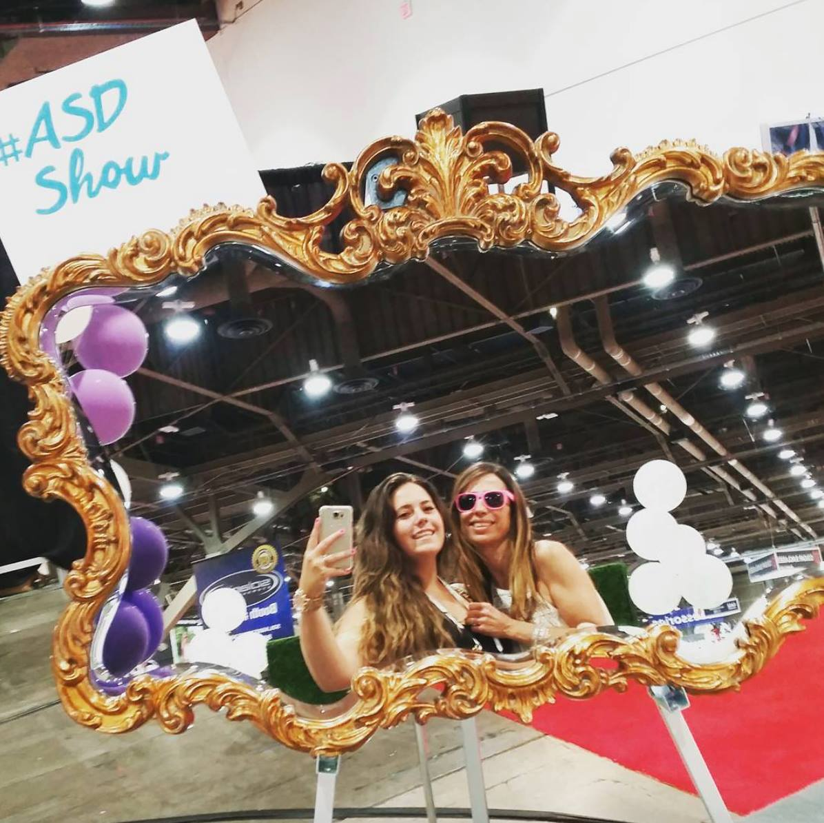 Julia and Daniela at ASD Market Week 2015 - Little Shop of WOW