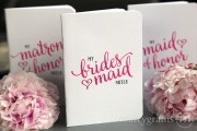 Bridesmaid Notes Notebook 3 - Marrgrams - Little Shop of WOW