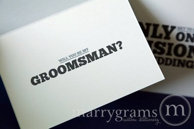 One Decision Groomsman - Marrygrams - Little Shop of WOW