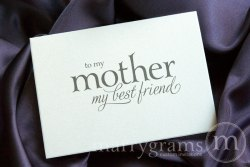 To my mother my best friend card - Marrygrams - Little Shop of WOW